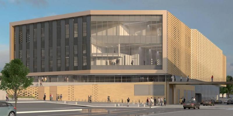Centre Commercial Palais Des Congrès palais-centre-des-congres-metz-maquette-3d - pilotage led